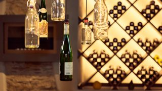 Extensive range of wines for connoisseurs